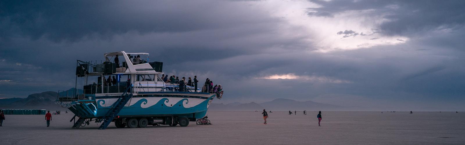 Yacht Art Car